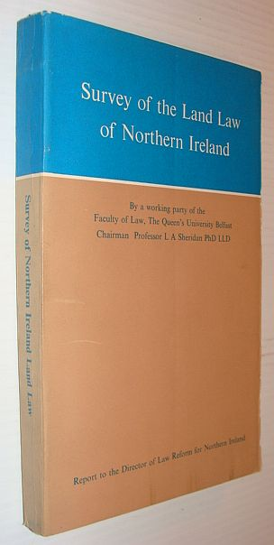 Image for Survey of the land law of Northern Ireland,