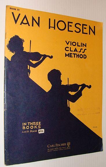 Image for Van Hoesen Violin Class Method - Book II (2)