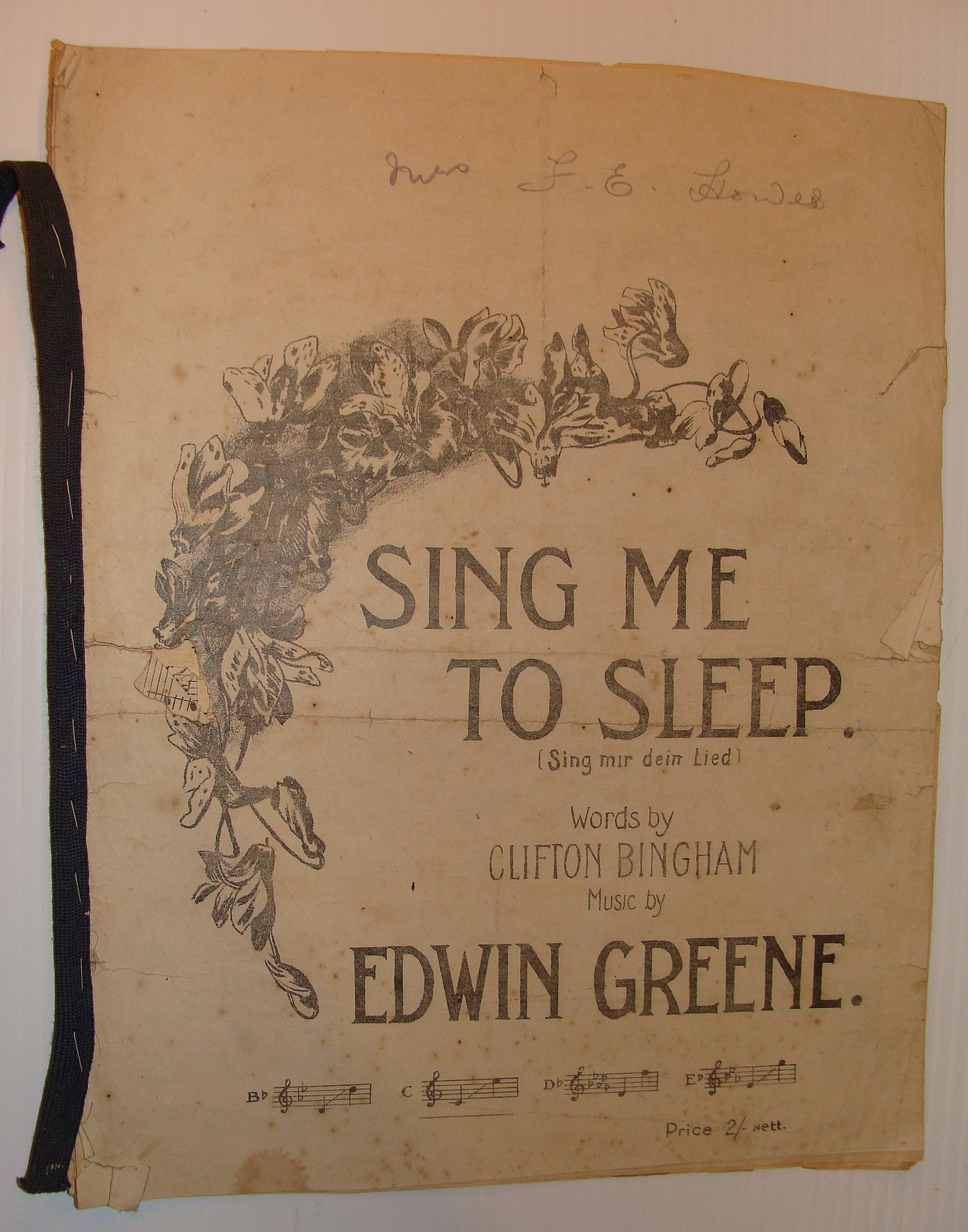 Image for Sing Me To Sleep (Sing Mir Dein Lied)