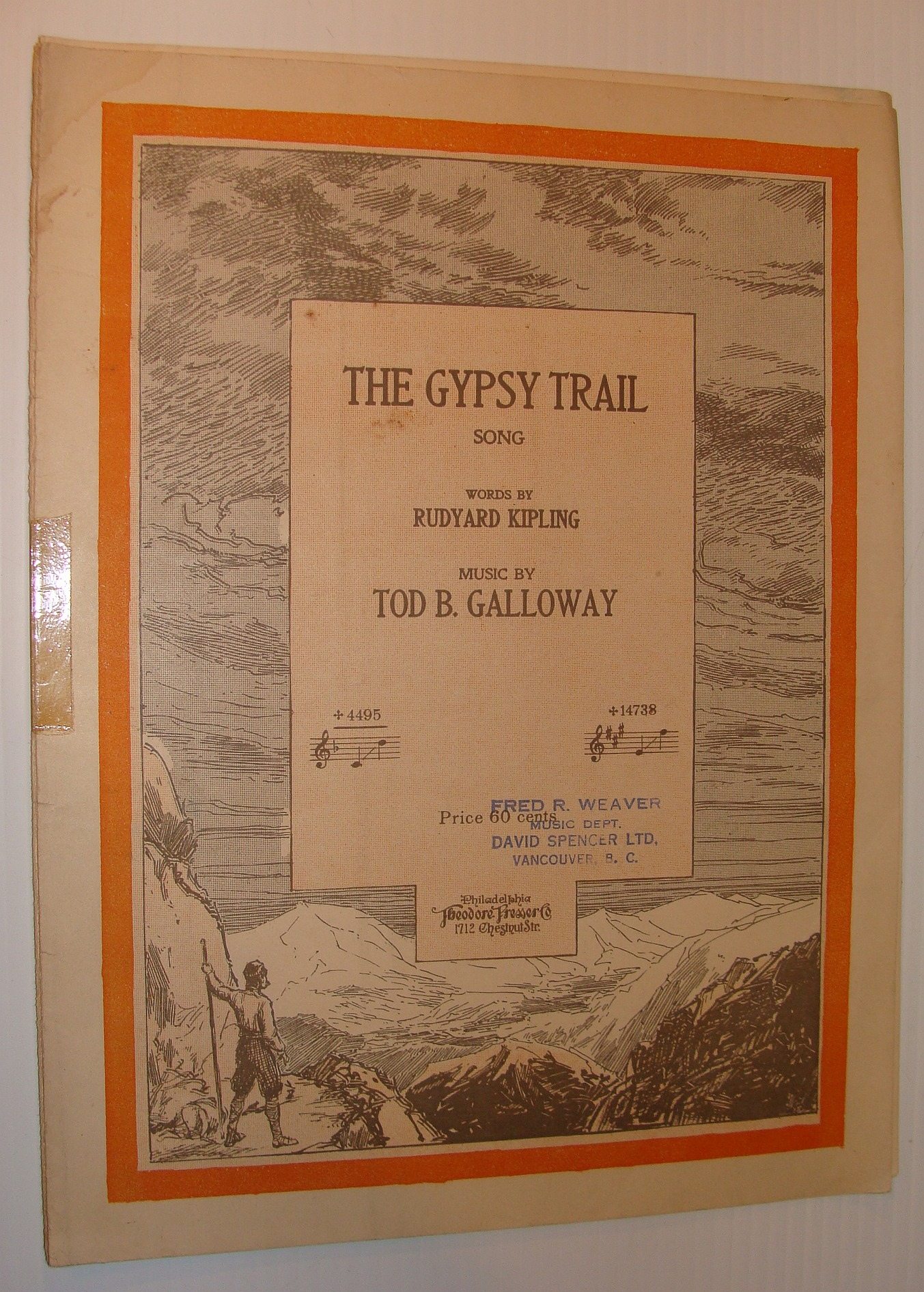 Image for The Gypsy Trail - Sheet Music