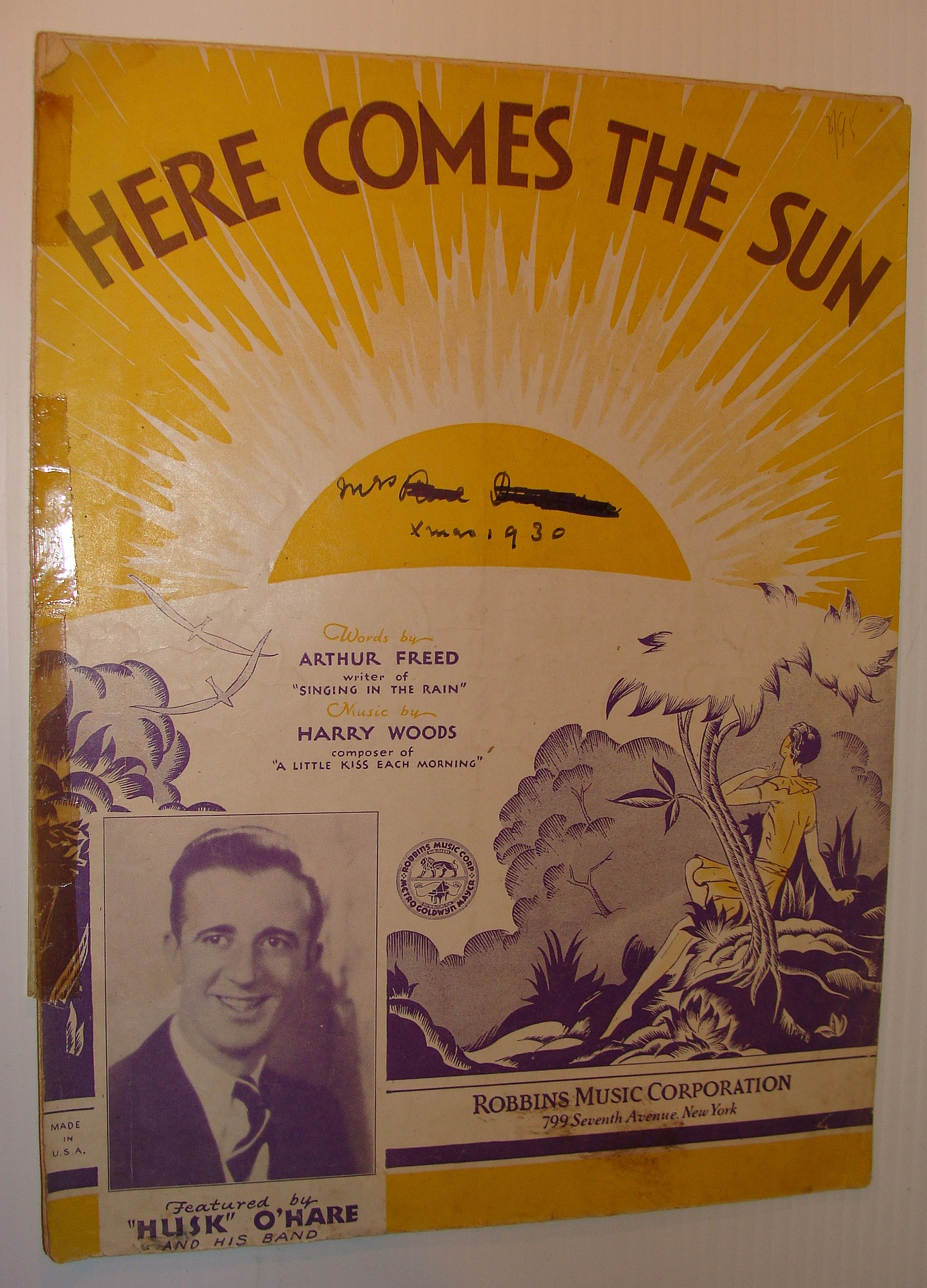 Here Comes the Sun - Sheet Music, Freed, Arthur; Woods, Harry