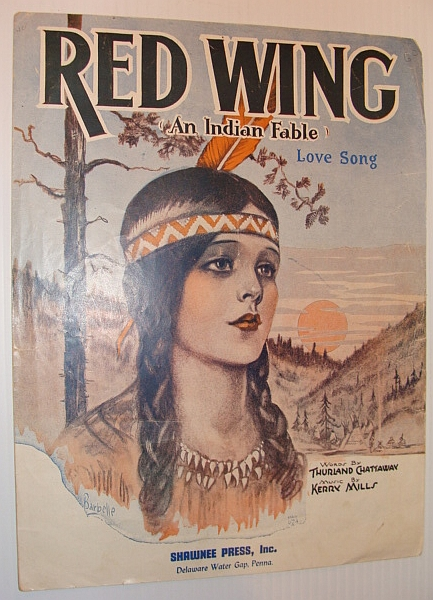 Image for Red Wing - An Indian Fable: Sheet Music for Voice and Piano