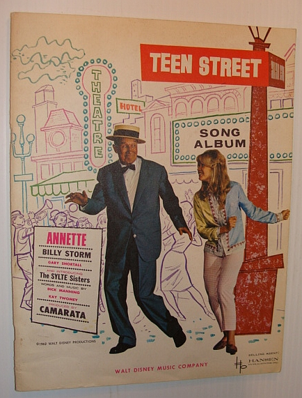 Image for Teen Street - Song Album: Sheet Music for Piano and Voice