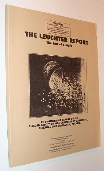 Image for The Leuchter Report - The End of a Myth