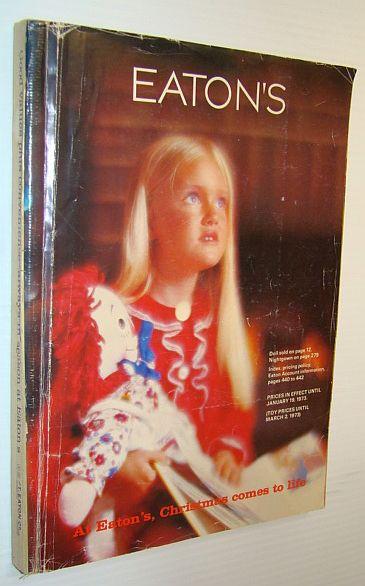 Image for Eaton's Catalogue, Christmas 1972