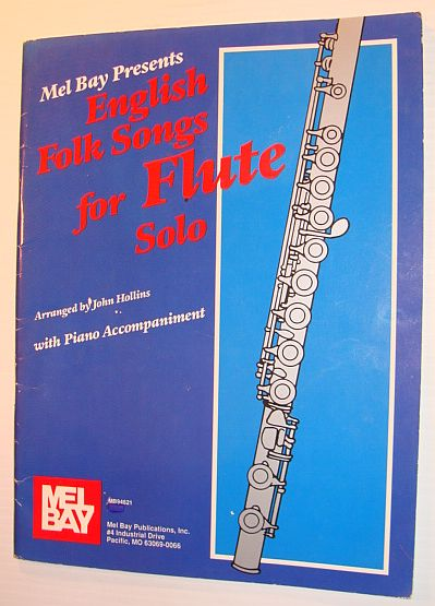 Image for English Songs for Flute Solo - with Piano Accompaniment