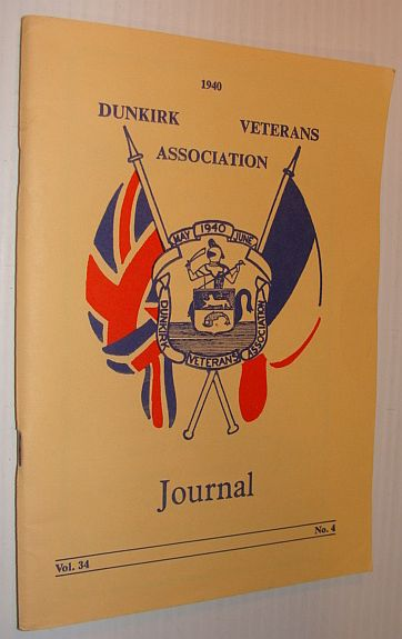 1940 Dunkirk Veterans' Association: Volum 34, No. 4, 1940 Dunkirk Veteran's Association