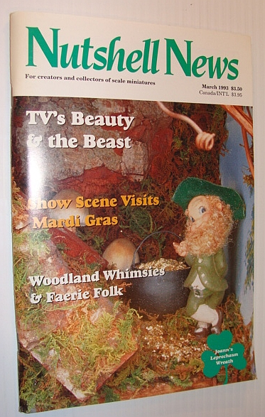 Nutshell News Magazine, March 1993 - TV's Beauty & the Beast, Multiple Contributors