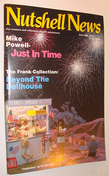 Nutshell News Magazine, July 1990 - The Frank Collection, Multiple Contributors