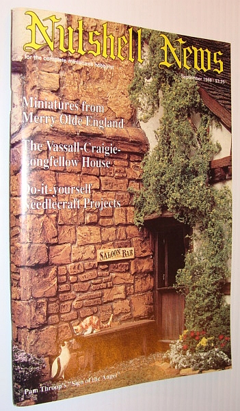 Image for Nutshell News Magazine, September 1988 - The Vassall-Craigie-Longfellow House