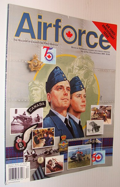Image for AirForce Magazine, The Magazine of Canada's Air Force Heritage, Volume 22, Number 3, Fall 1998