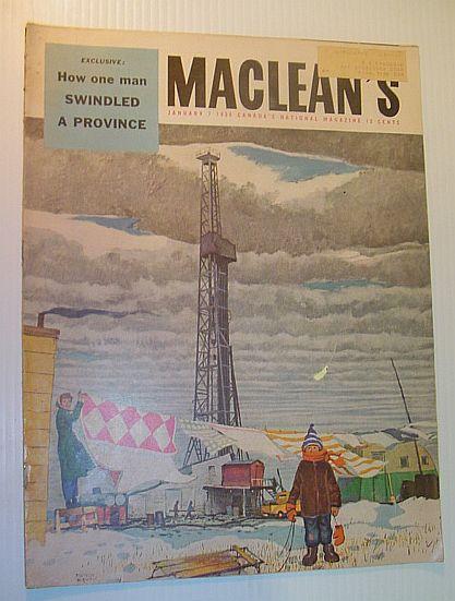 Maclean's Magazine, 7 January 1956, Multiple Contributors