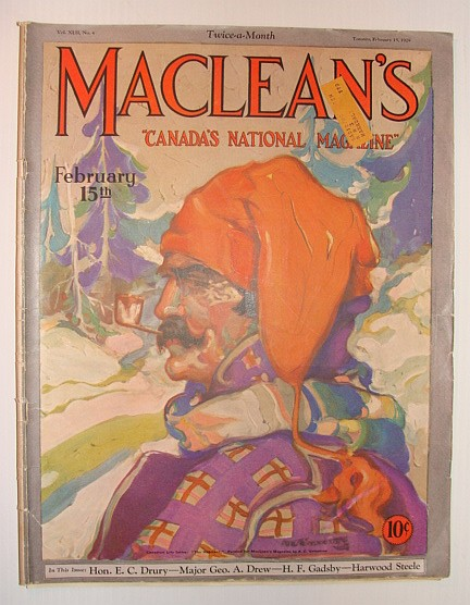 Maclean's - Canada's National Magazine, February 15, 1929, Multiple Contributors