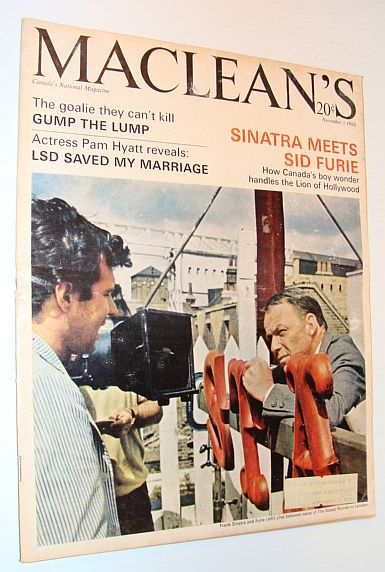 Image for Maclean's Magazine, 5 November 1966 *Frank Sinatra Cover Photo*