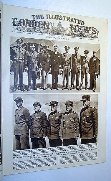 Image for The Illustrated London News, April 18, 1953 - Agreement at Panmunjom