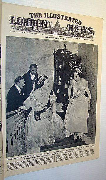 The Illustrated London News, May 19, 1951 - King Frederik and Queen Ingrid of Denmark Pay a Visit / Korean War, Bryant, Arthur; Squire, Sir John; Falls, Cyril