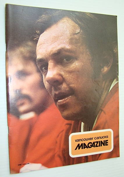 "Image for Vancouver Canucks Magazine, December 11, 1973 - Great Colour Cover Photo of ""The Road Runner"" Yvan Cournyoer"