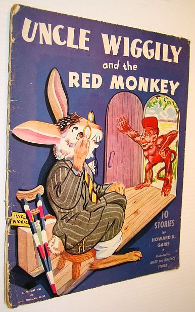 Uncle Wiggily and the Red Monkey (1028), Garis, Howard R.