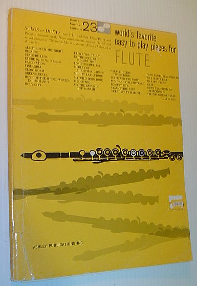Image for World's Favorite Easy to Play Pieces for Flute - World's Favorite Series No. 23
