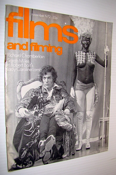 Image for Films and Filming Magazine, November 1972: Richard Chamberlain Cover Photo