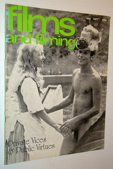Films and Filming Magazine, June 1978 - Cover photo of Therese Ann Savoy and Lajos Balazsovits in 'Private Vices & Public Virtues', Gow, Gordon; Elley, Derek; Gay, Ken