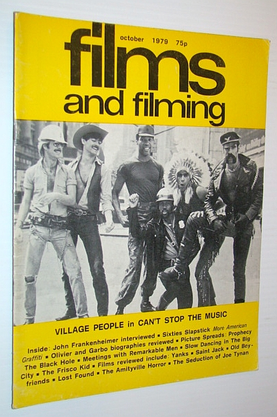 Image for Films and Filming Magazine, October 1979 - Cover Photo of The Village People