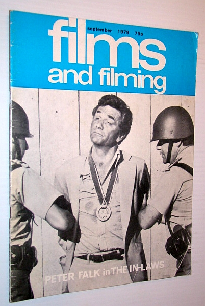 """Image for Films and Filming Magazine, September 1979 - Cover Photo of Peter Falk in 'The In-Laws"""""""