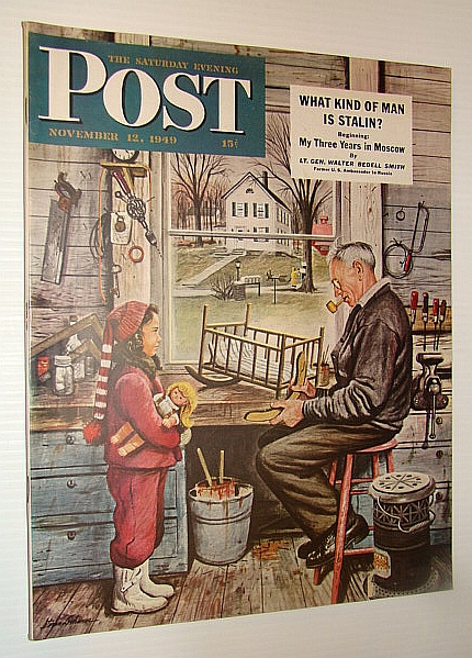Image for The Saturday Evening Post Magazine, November 12, 1949 - What Kind of Man is Stalin? / Minot, North Dakota