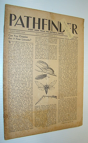 Image for Pathfinder Magazine - A Weekly Digest of World Affairs From the Nation's Capital, July 4, 1936 - Can You Outplan the 17-Year Locusts?