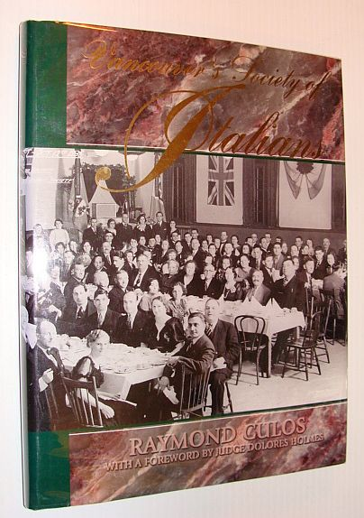 Image for Vancouver's Society of Italians