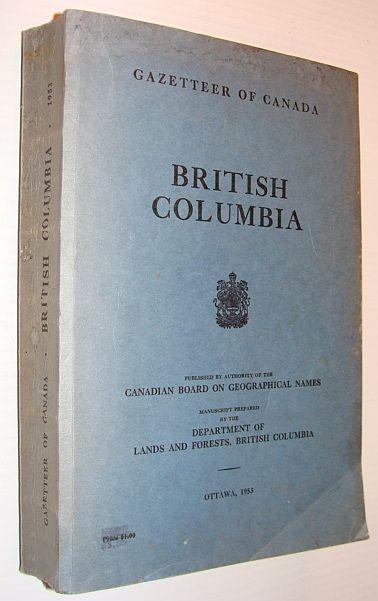 Image for British Columbia - Gazetteer of Canada