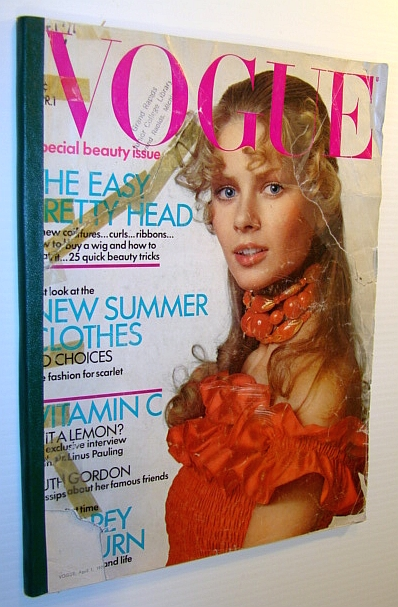Vogue Magazine (US) 1 April 1971, Davis, Gwen; Calisher, Hortense; Phelps, Robert; Gordon, Ruth; Kent, Leticia; Pepper, Bill