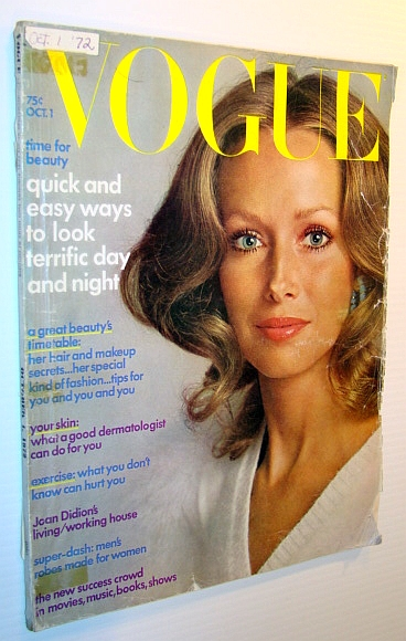 Image for Vogue Magazine (US) 1 October 1972 - Karen Graham Cover Photo