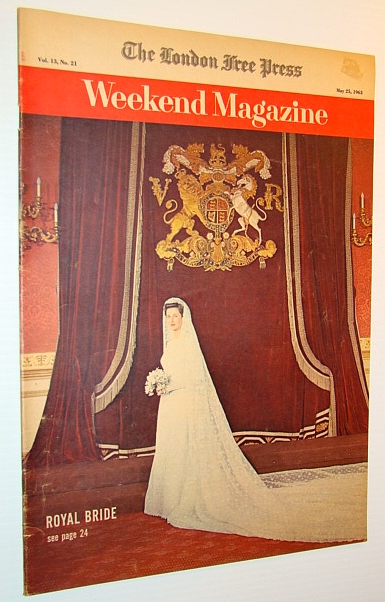 Image for Weekend Magazine, 25 May 1963 - Princess Alexandra of Kent Bridal Cover Photo