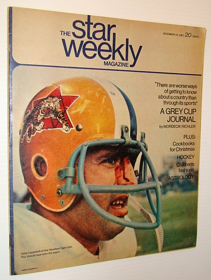 The Star Weekly Magazine, December 23, 1967 - Gene Ceppetelli Cover Photo