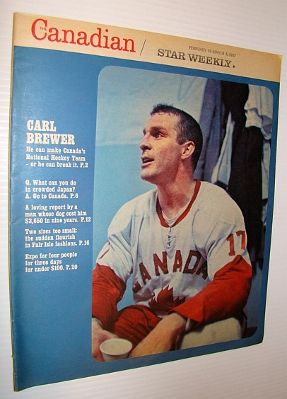 The Canadian/Star Weekly Magazine, 25 February - 4 March 1967 - Carl Brewer Cover