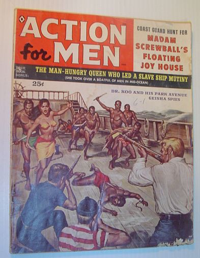 Action for Men (Magazine): August, 1959, Vol. 3, No. 5, Multiple Contributors