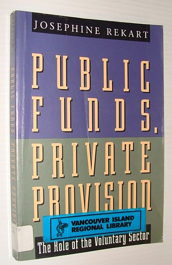 Image for Public Funds, Private Provision: The Role of the Voluntary Sector