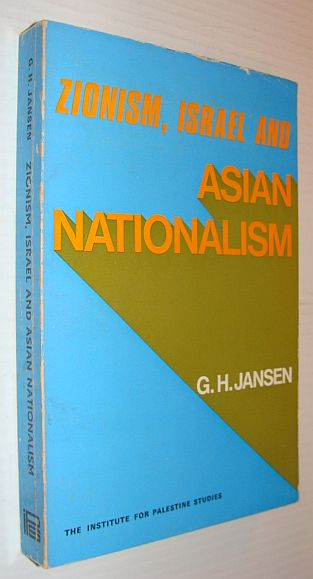 Image for Zionism, Israel and Asian Nationalism