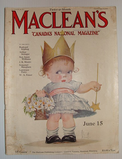Maclean's Magazine, June 15, 1924, Multiple Contributors