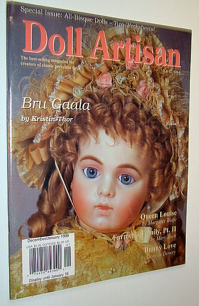 Image for Doll Artisan Magazine, December/January 1998, Volume 20, Number 6