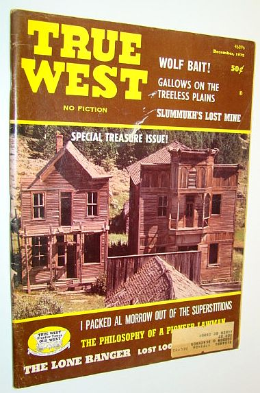 Image for True West Magazine: December 1972 - Special Treasure Issue