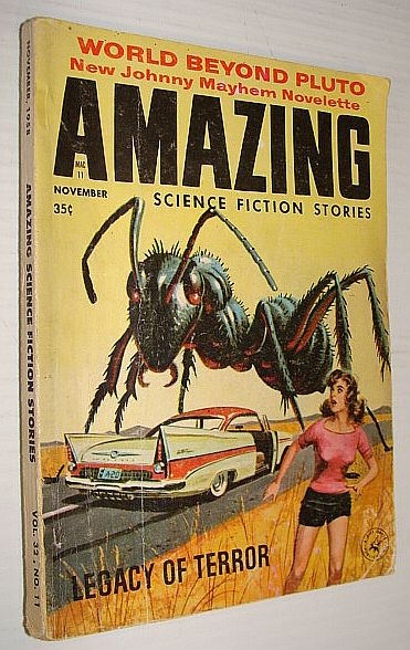 Amazing Science Fiction Stories, November 1958, Multiple Contributors