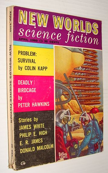 New Worlds Science Fiction, April 1960, Multiple Contributors