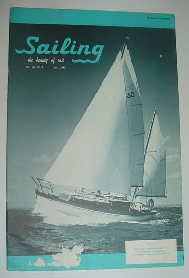 Sailing (Magazine) - The Beauty of Sail: July 1972, Multiple Contributors