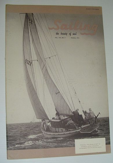 Image for Sailing (Magazine) - The Beauty of Sail: March 1974