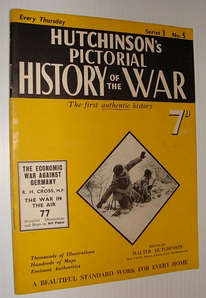 Image for Hutchinson's Pictorial History of the War, Series 3, No. 5, January 17, 1939 - , January 23, 1940