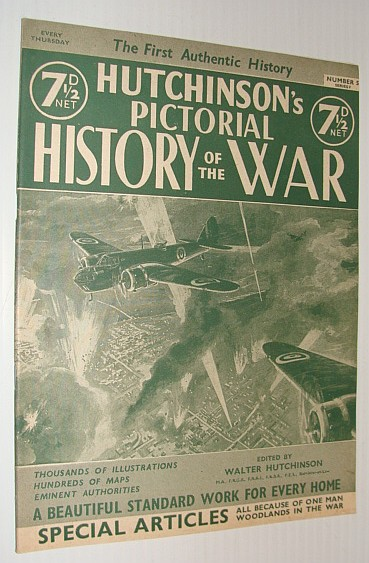 Hutchinson's Pictorial History of the War, Series 9, Number 5, December 25 - 31, 1940, Hutchinson, Walter: Editor