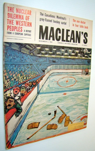 Image for Maclean's - Canada's National Magazine, 3 December 1960 - I Went Back Behind the Iron Curtain