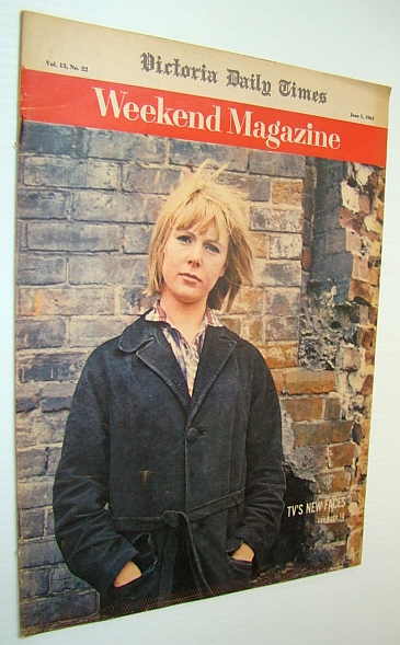 Weekend Magazine, Vol. 13, No. 22 - June 1, 1963 - Claire Marshall Cover Photo / They Tried to Kill De Gaulle, Joesten, Joachim; Mildred Jeffery; O'Brien, Andy; Trent, Bill; Klyn, Doyle; Clark, Gregory